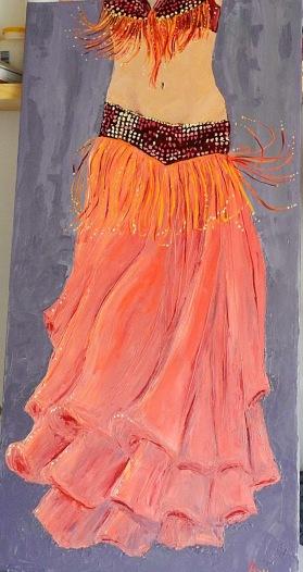 Ritratto a olio di Anne Karen Rasch.  Modella Agnese Magonio. Link di origine: http://sietanzt.blogspot.it/
