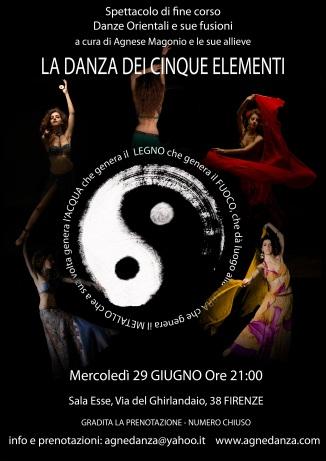 """Spettacolo """"La Danza dei Cinque Elementi"""""""